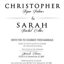 Sarah Invite Side 1