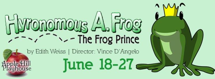 Frog Prince Banner